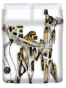 Abstraction 3092 Duvet Cover