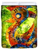 Abstraction 3198 Duvet Cover