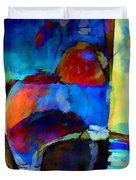 Abstraction 775 - Marucii Duvet Cover