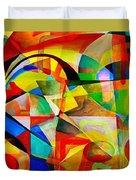 Abstraction 776 - Marucii Duvet Cover