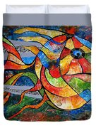 Abstraction 787 - Marucii Duvet Cover
