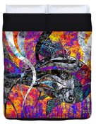 Abstraction 788 - Marucii Duvet Cover