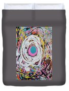 Abstraction #91  Duvet Cover