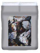 Abstraction#6 Duvet Cover