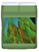 Abstractions From Nature - Pigeon Feathers Duvet Cover