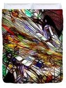 Abstracto En Dimension Duvet Cover