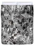 pERMEABLE aBSTRACTION  Duvet Cover