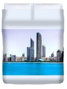 Abu Dhabi Corniche Duvet Cover