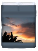 Abuja Sunset Duvet Cover