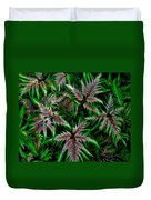 Abundance Of Ferns Duvet Cover