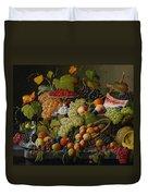 Abundant Fruit Duvet Cover