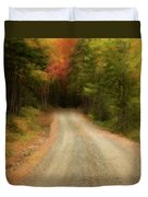Acadia Backroads Duvet Cover