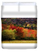 Acadia Colors Duvet Cover