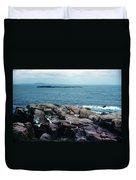Acadia Park Maine Coast Duvet Cover