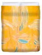 Acadian Flower Duvet Cover