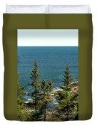 Acadia's Atlantic Duvet Cover