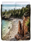 Acadia's Monument Cove Duvet Cover