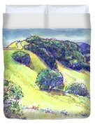 Acalanes Ridge, Lafayette, Ca Duvet Cover