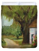 Ace Basin Cottage Duvet Cover
