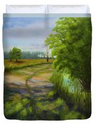 Ace Basin Pathway Duvet Cover