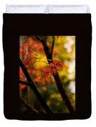 Acer Silhouette Duvet Cover