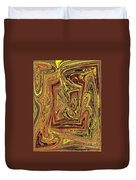 Achey Breaking Arts In Living Color Duvet Cover