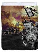 Achiri Warriors Duvet Cover