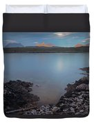 Achnahaird Bay And Assynt Mountains Duvet Cover