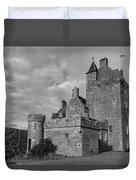 Ackergill Tower 1119 Bw Duvet Cover