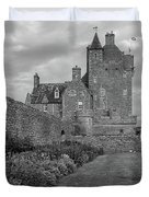Ackergill Tower 1173 Bw  Duvet Cover
