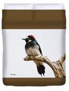 Acorn Woodpecker Duvet Cover