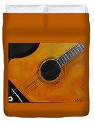 Acoustic Guitar Duvet Cover