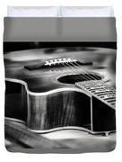 Acoustic Noir Duvet Cover