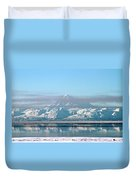 Across The Bay Duvet Cover