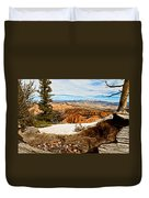 Across The Canyon Duvet Cover