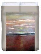 Across The Horizon Duvet Cover
