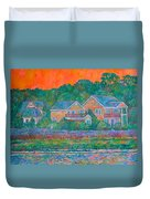 Across The Marsh At Pawleys Island       Duvet Cover