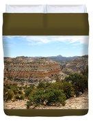 Across Utah  Duvet Cover