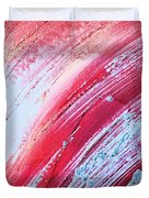 Acrylic Abstract On Canvas 6 Duvet Cover