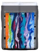 Acrylic Pouring Duvet Cover