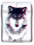 Act Like A Wolf Duvet Cover