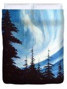 Actic Aurora Duvet Cover