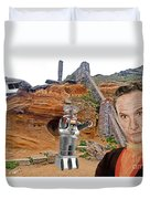 Actor Jonathan Harris As Dr Smith From Lost In Space II Duvet Cover