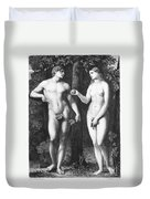 Adam & Eve Duvet Cover