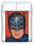 Adam West Is Batman Duvet Cover