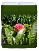 Adams County Peach Duvet Cover