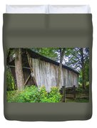 Adams/san Toy Covered Bridge  Duvet Cover