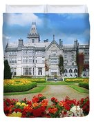 Adare Manor Golf Club, Co Limerick Duvet Cover