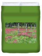 Adding A Splash Of Color-indian Paintbrush In Texas Duvet Cover