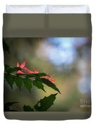 Adding Color To The Holly Duvet Cover